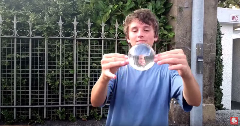 This Contact Juggling Street Performance is a Pleasure to Watch