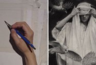 Graphite Drawing Comes to Life in Amazing Timelapse by Karla Ortiz