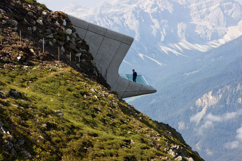 messner mountain museum zaha hadid