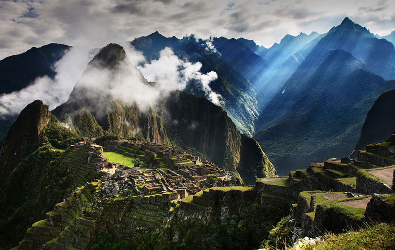 Picture of the Day: Morning Picchu