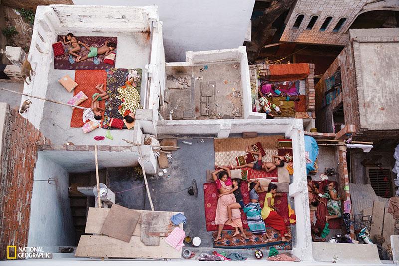 Rooftop Sleeps, Varanasi