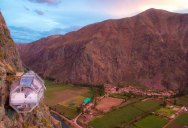 In Peru You Can Sleep Like a Condor, in a Floating Nest 1200 ft High