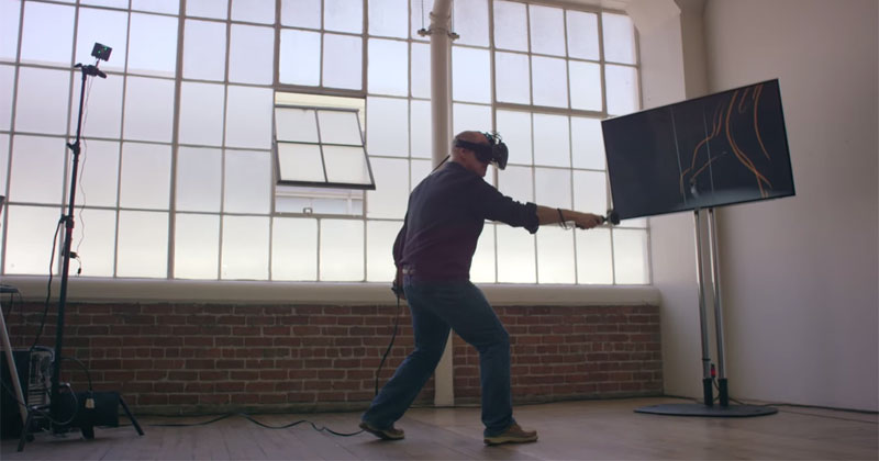 Stepping Into the Page: Prolific Disney Artist Draws in Virtual Reality
