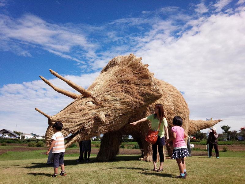 straw art festival niigata city japan (13)