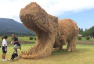 There's an Annual Straw Art Festival in Japan and it Looks Awesome