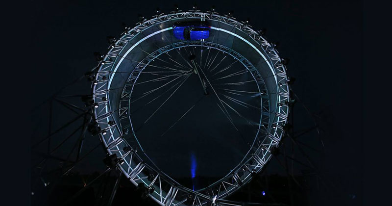 Terry Grant Sets World Record for Largest Ever Loop-the-Loop in a Car
