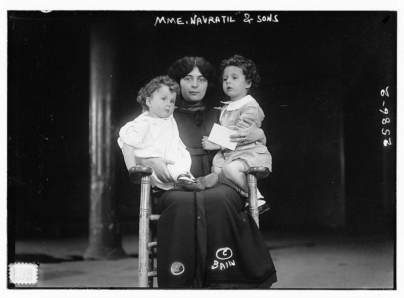 titanic orphans survivors michel and edmond navratil (4)