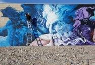 SRIL Completes Epic 100 Ft Mural in Salt Lake City