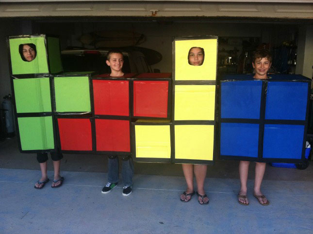 cheap easy diy group costumes for halloween (10)