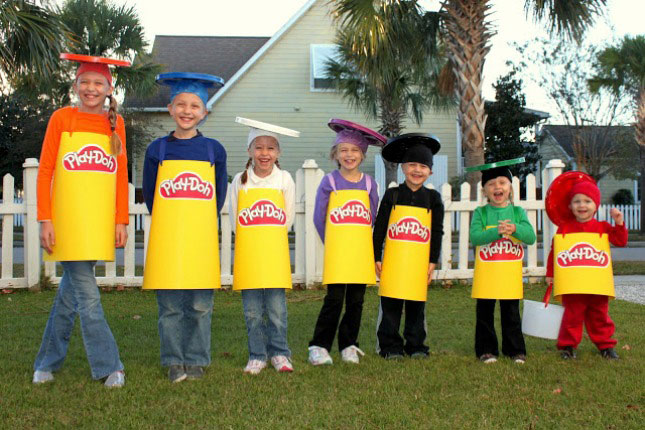 cheap easy diy group costumes for halloween (12)