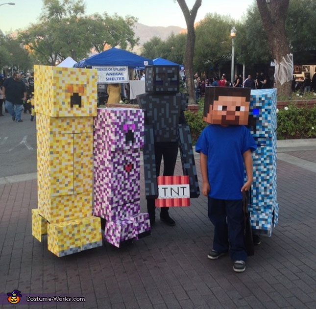cheap easy diy group costumes for halloween (18)