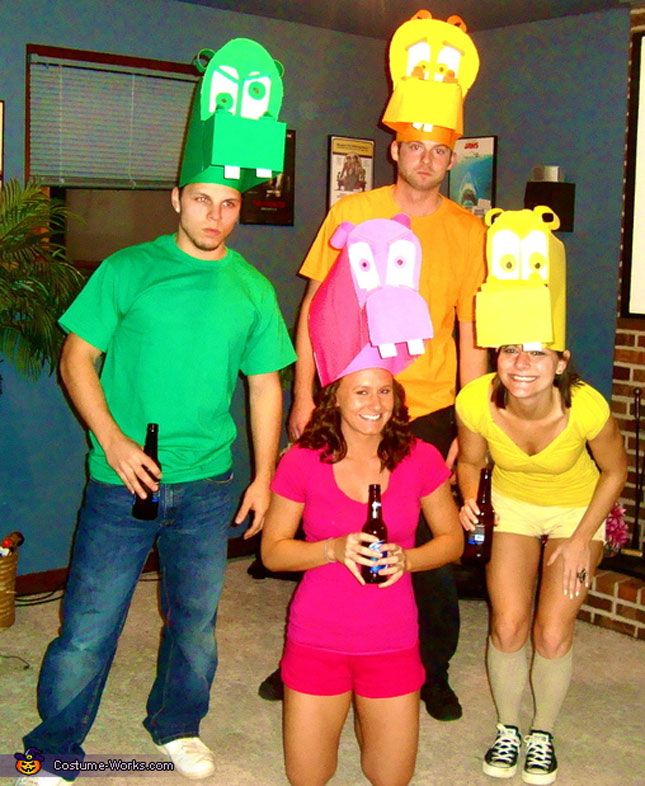 cheap easy diy group costumes for halloween (22)