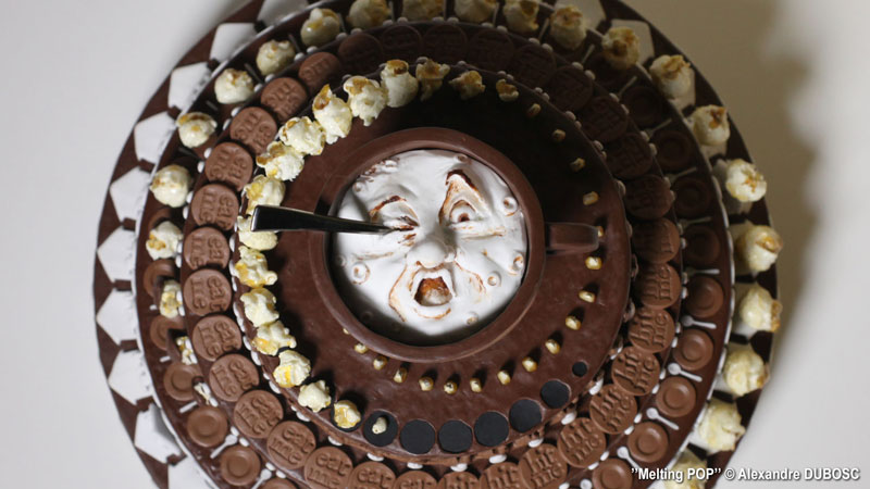 chocolate cake zoetrope by alexandre dubosc (1)
