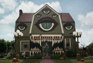 Christine McConnell Decorates Her Parents House for Halloween