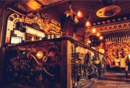 This Steampunk Bar in Romania is Filled with Kinetic Sculptures