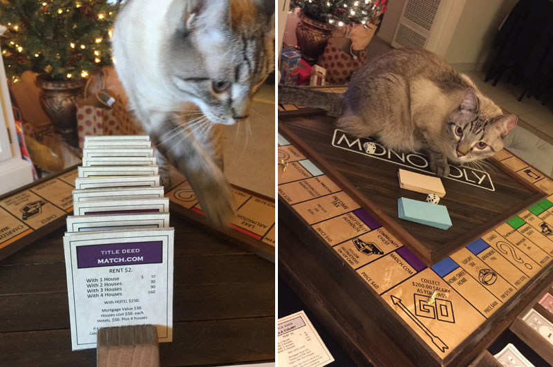 Guy Proposes With Romantic Custom Monopoly Board (19)