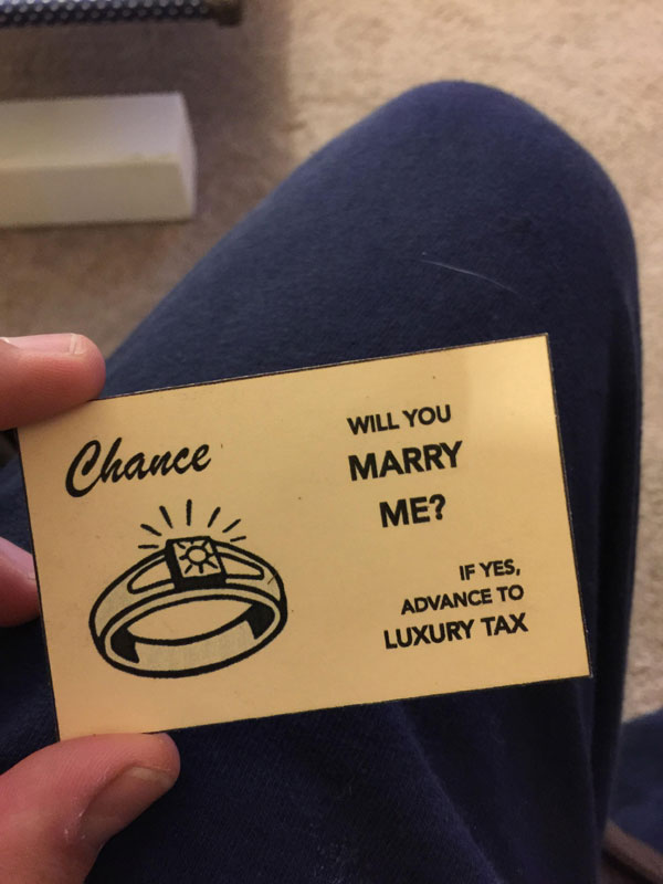 Guy Proposes With Romantic Custom Monopoly Board (21)