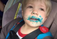 Watch This Kid Deny Eating a Cupcake Despite Overwhelming Evidence to the Contrary