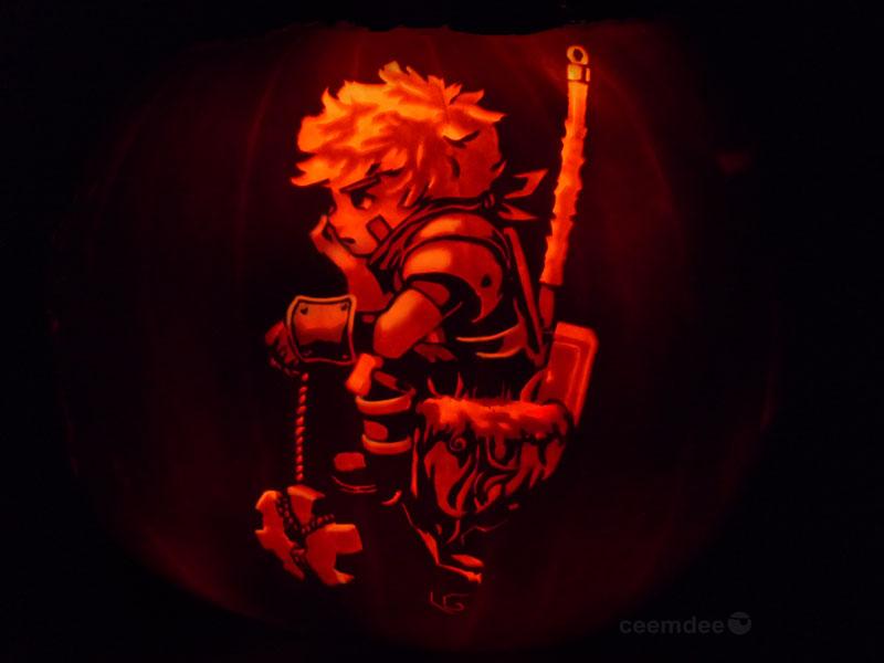 pumpkin art by ceemdee on deviantart (1)