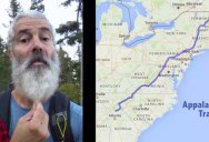 6 Month Timelapse Shows Man's Beard Grow as He Hikes Appalachian Trail