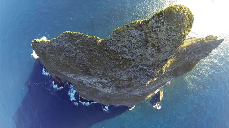 Wingsuit Flying Over the World's Tallest Volcano Stack (3)