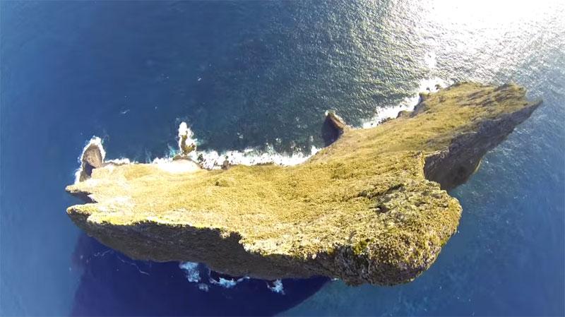 Wingsuit Flying Over the World's Tallest Volcano Stack (4)