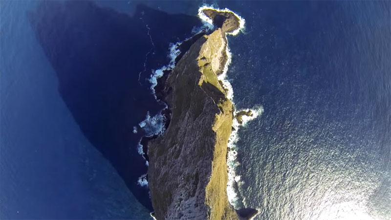 Wingsuit Flying Over the World's Tallest Volcano Stack (7)