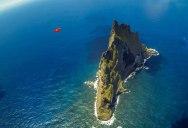 Wingsuit Flying Over the World's Tallest Volcano Stack