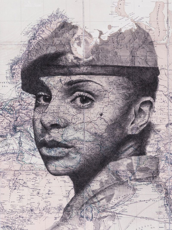 British-Army-Female-Portrait