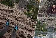 POV Eiffel Tower Climb