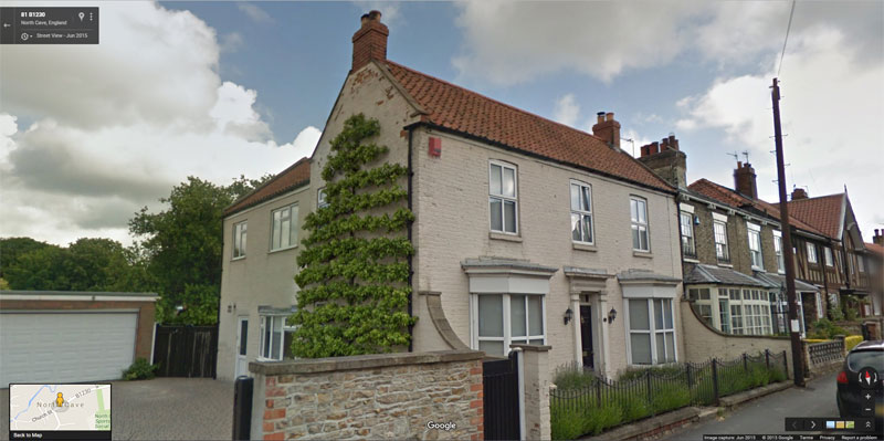 Espaliered Fruit Tree in north cove england Looks Two-Dimensional (3)
