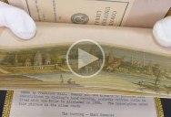 The Secret Paintings Hidden on the Edges of Books