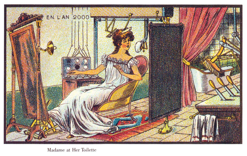 french artists from 1900s depict the year 2000 (19)