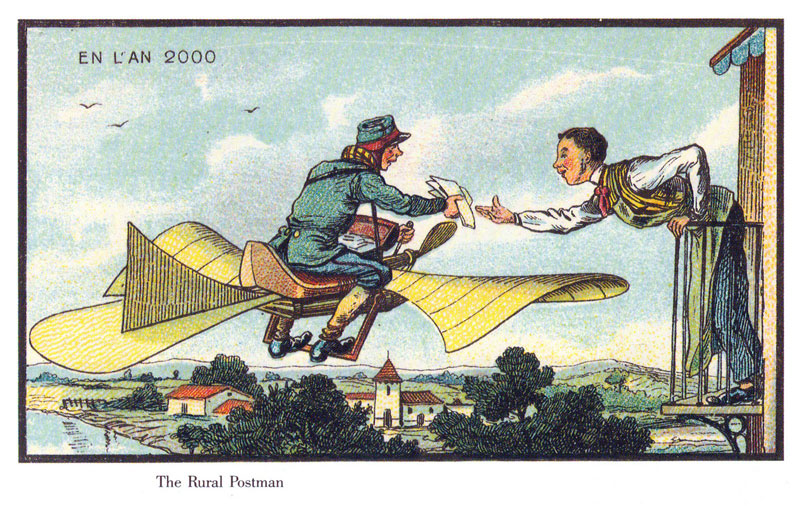 french artists from 1900s depict the year 2000 (22)