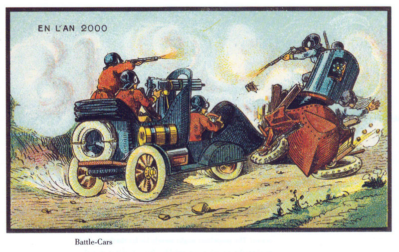 french artists from 1900s depict the year 2000 (24)