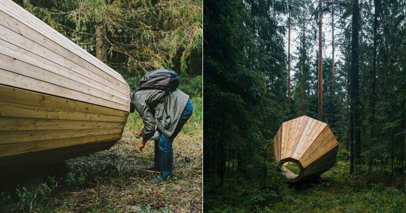 Someone Put Giant Megaphones in the Woods So You Can Listen to the Forest