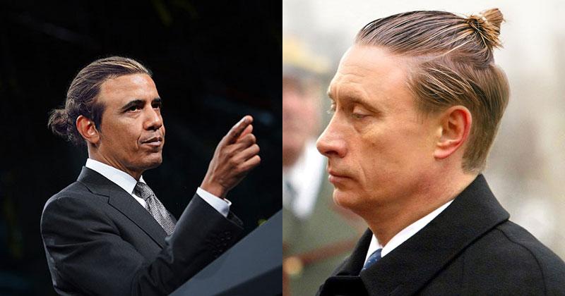 If Politicians Had Man Buns (27 Photos)