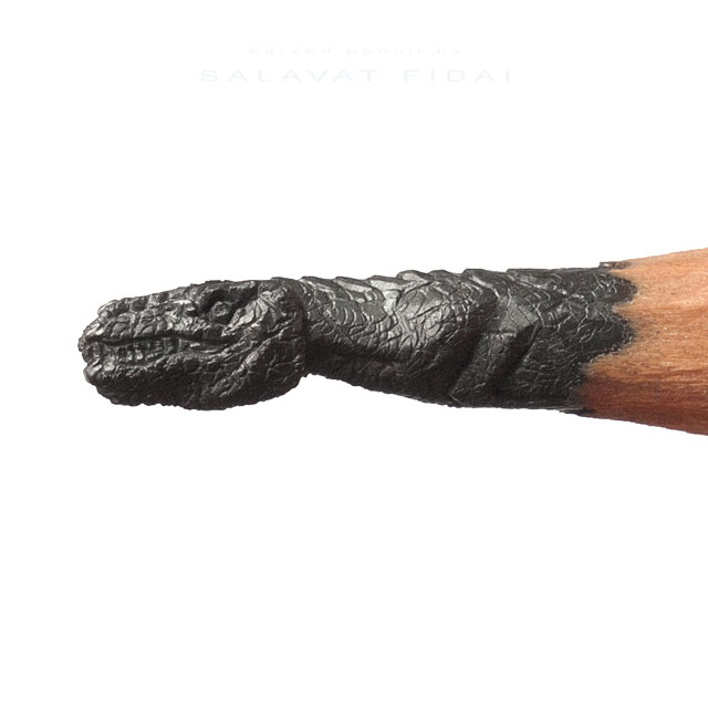 miniature sculptures carved on the tips of pencils by salavat fidai (11)