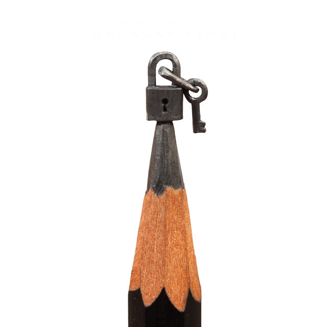 miniature sculptures carved on the tips of pencils by salavat fidai (16)