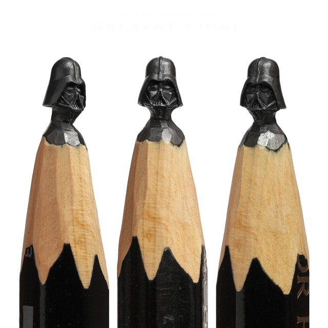 miniature sculptures carved on the tips of pencils by salavat fidai (6)