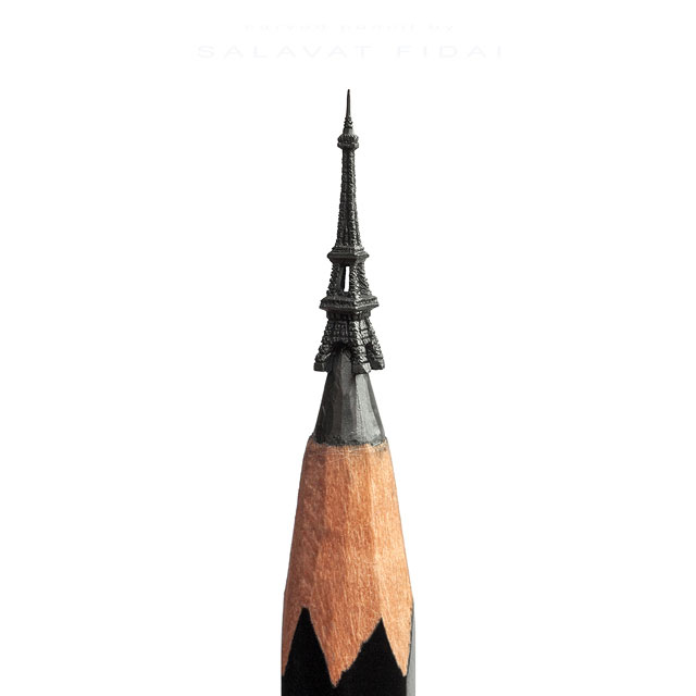 miniature sculptures carved on the tips of pencils by salavat fidai (8)