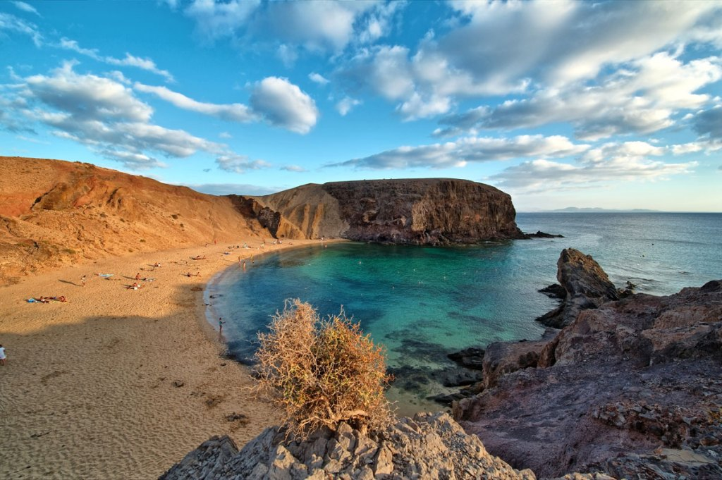 Picture of the Day: Playa de Papagayo, Canary Islands, Spain