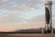 Rocket Launches 100 KM Into Space and Lands Again