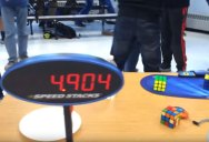 14-Year-Old Sets Rubik's Cube World Record and Breaks 5 Second Barrier