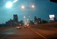 Video: Shooting Star in Bangkok Lights Up the Night Sky