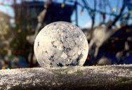 Watch What Happens When You Make Soap Bubbles in the Freezing Cold
