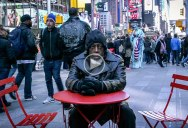 Stepping Into Times Square After 44 Years in Prison