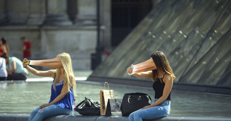 If Cell Phones Actually Sucked Our Faces (7 Photos)