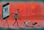 Steve Cutts Illustrates the Sad State of Today's World