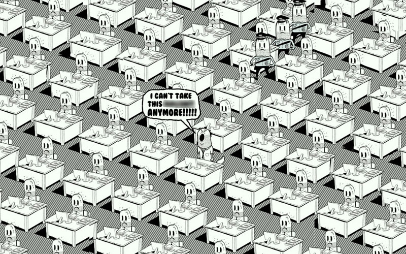 the sad state of todays world by steve cutts (4)